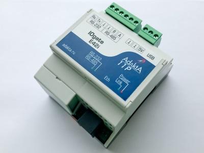 Повторитель RS485 через 4G/WiFi/LAN IOgate