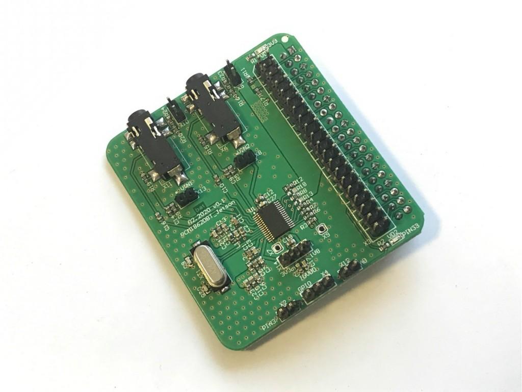 Шилд кодека PCM1862DBT
