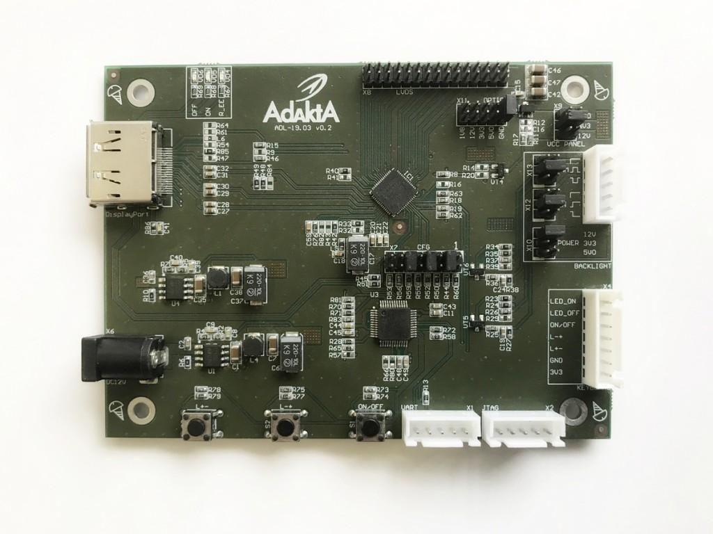 Конвертер DP-LVDS ADL-19.03