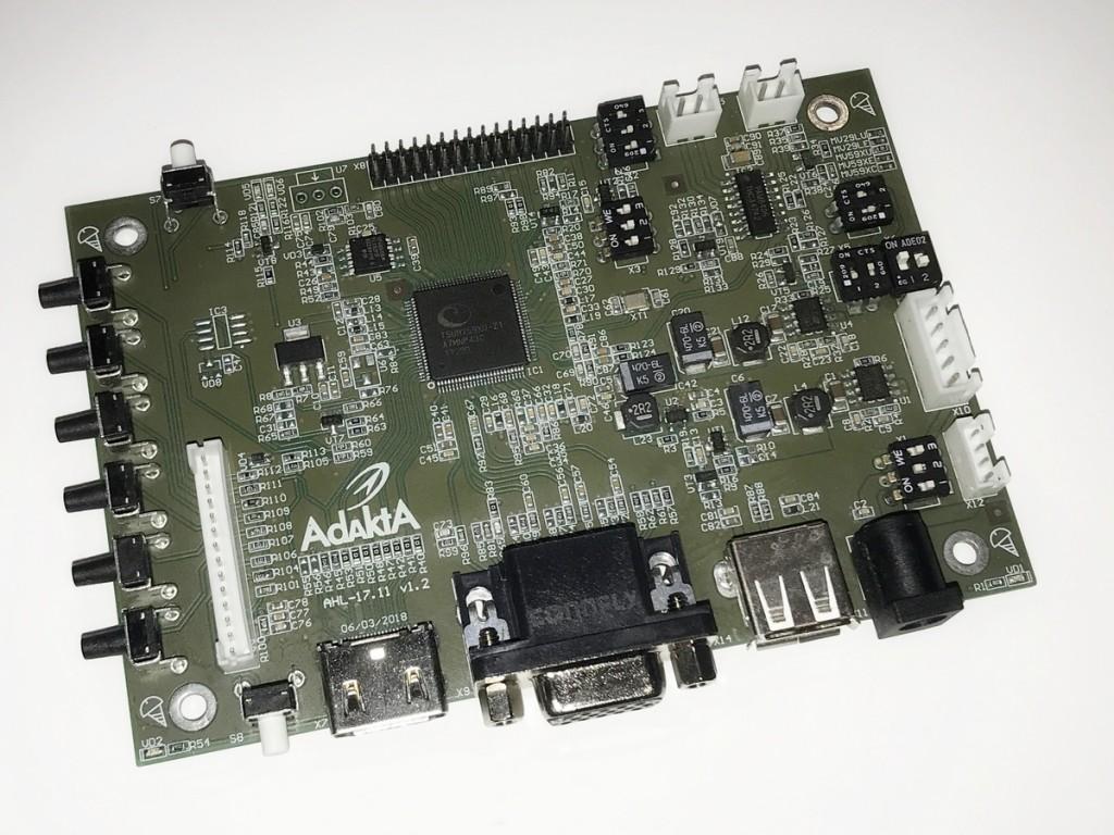 Конвертер HDMI-LVDS AHL-17.11 с медиаплеером