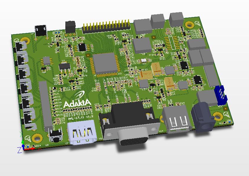 Конвертер (медиаплеер) HDMI-LVDS AHL-17.11