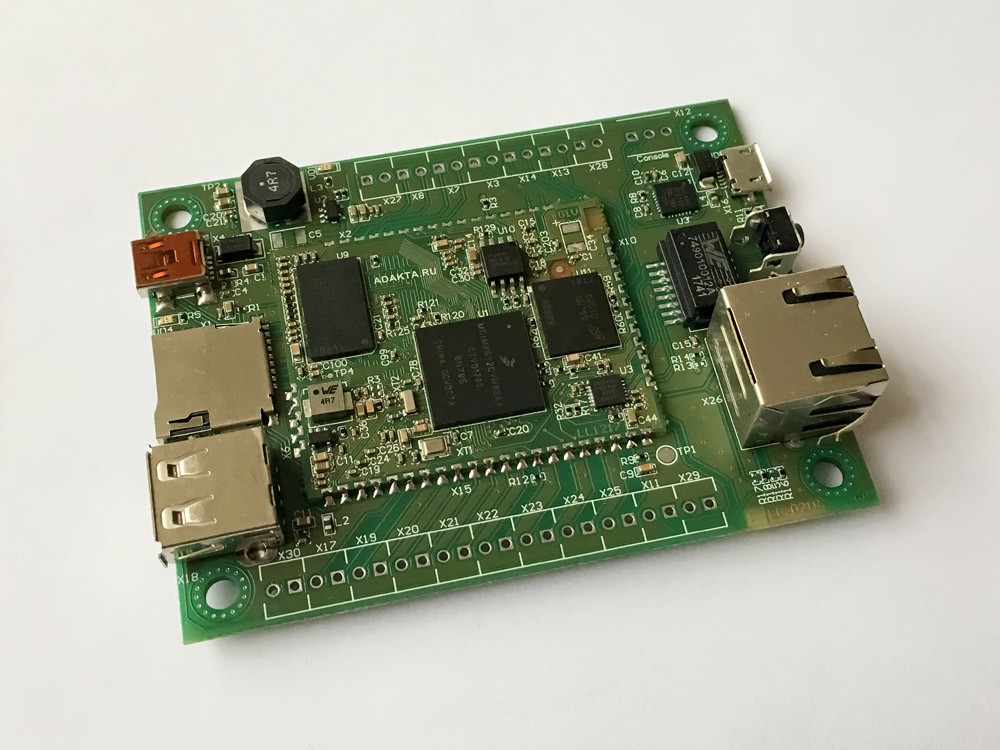 ADAKTA Development Kit based on NXP iMX6ull