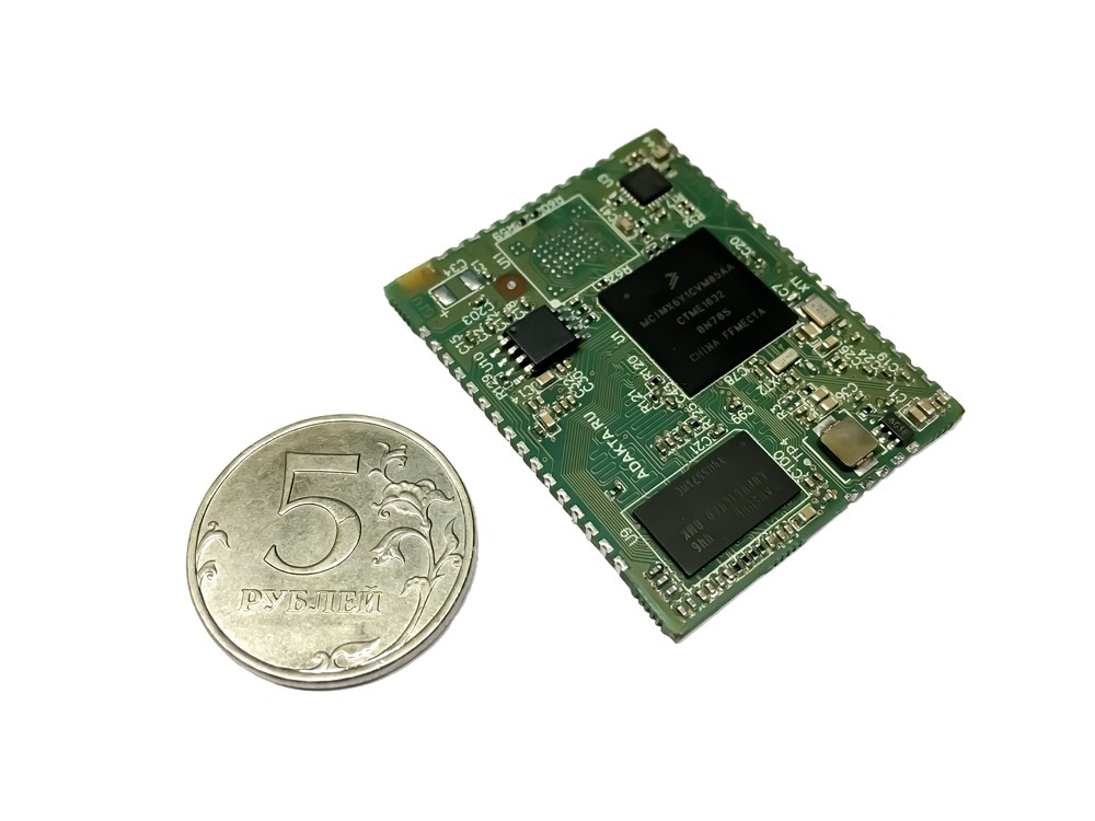 SoM ADAKTA-mx6ull based on NXP iMX6ull