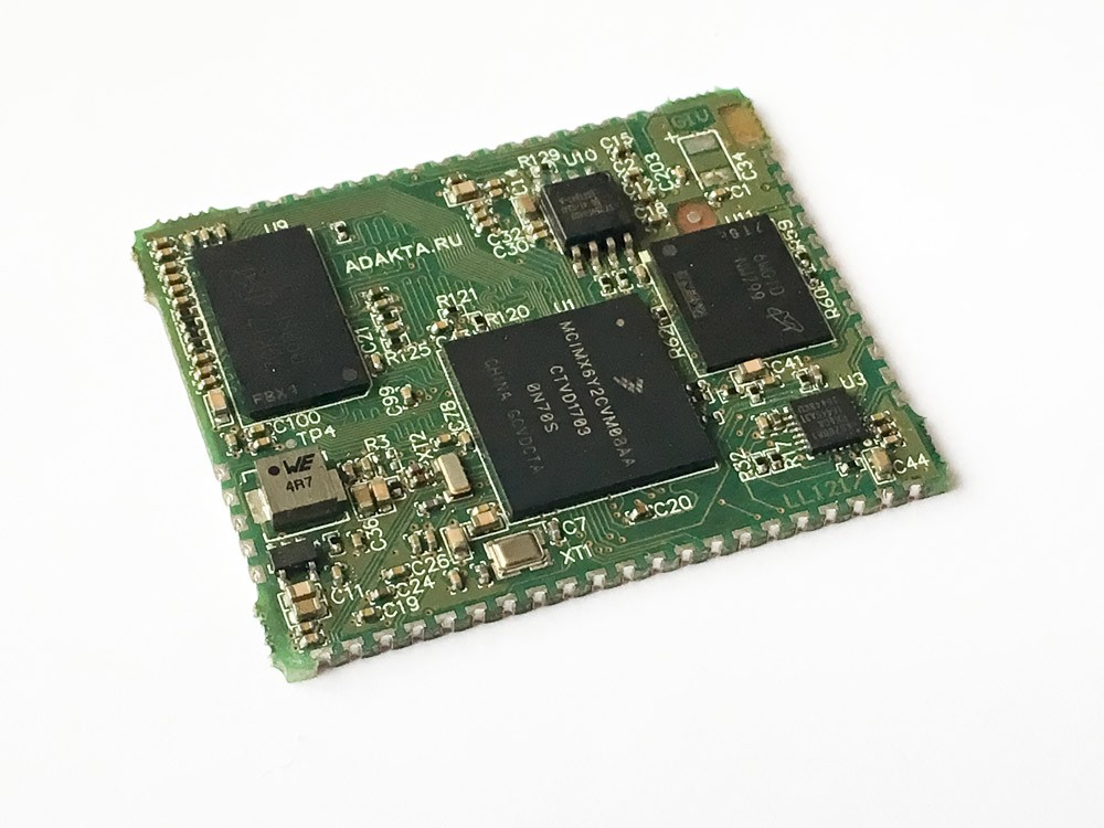 SoM ADAKTA-mx6ull based on NXP iMX6ull (Nano6)