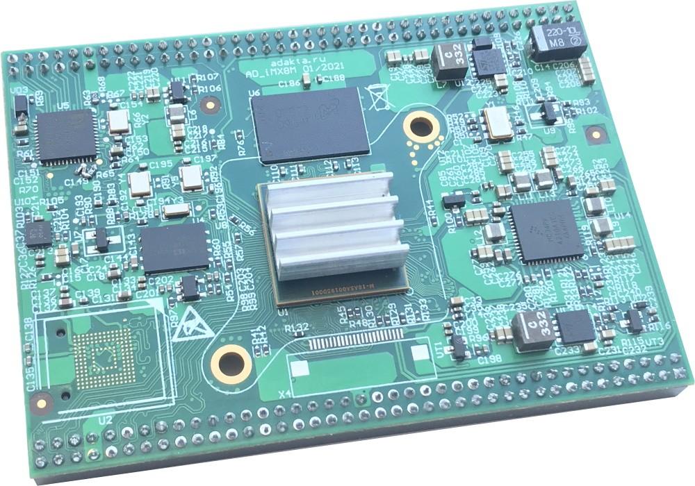 Процессорный модуль на базе процессора iMX8M
