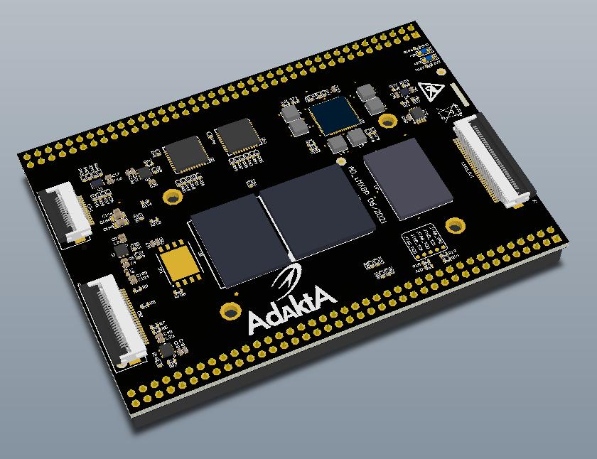 Процессорный модуль на базе процессора iMX8MP