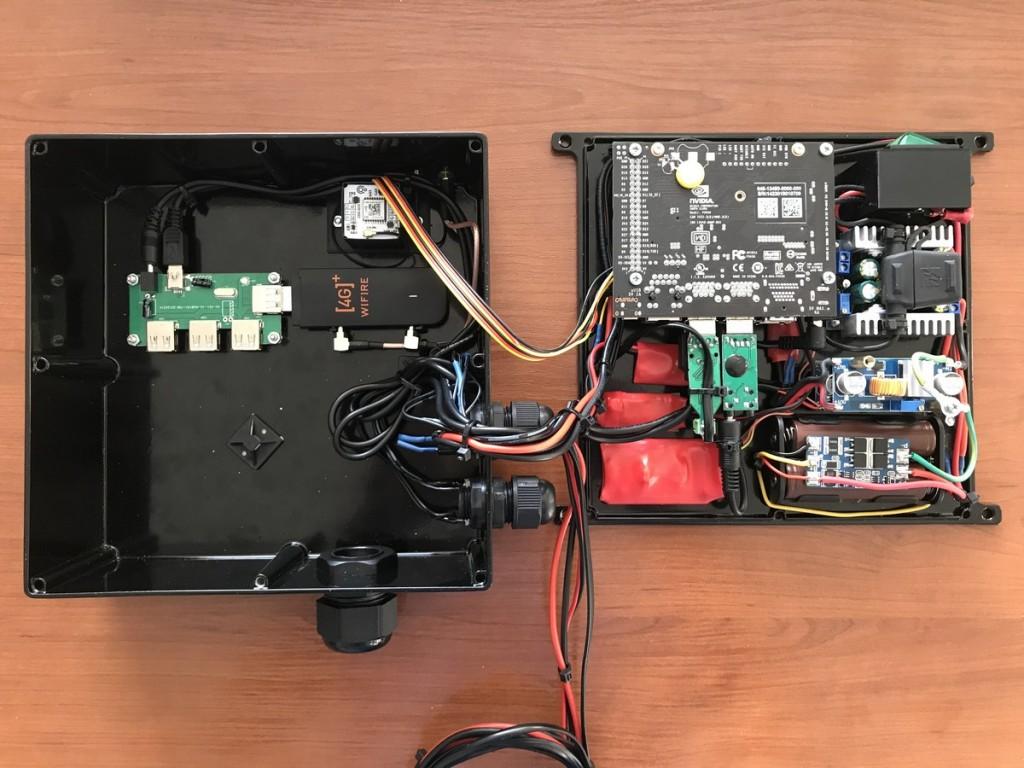Навигационный модуль на базе NVIDIA Jetson Nano