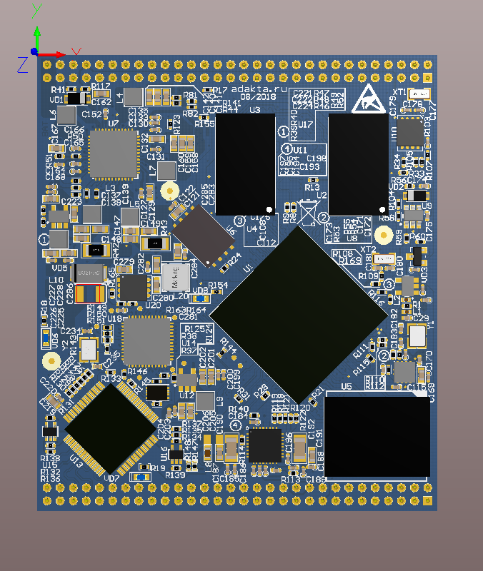 System on Module based on NXP iMX7