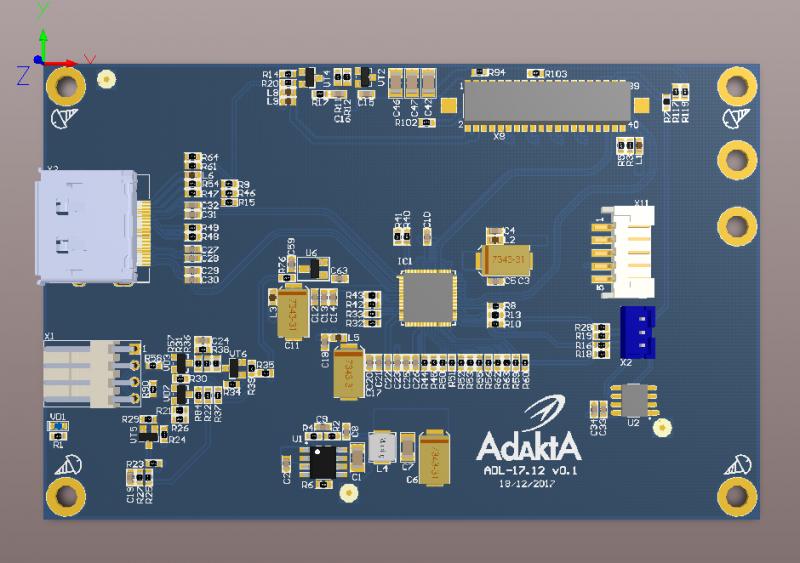Конвертер DP-LVDS ADL-17.12