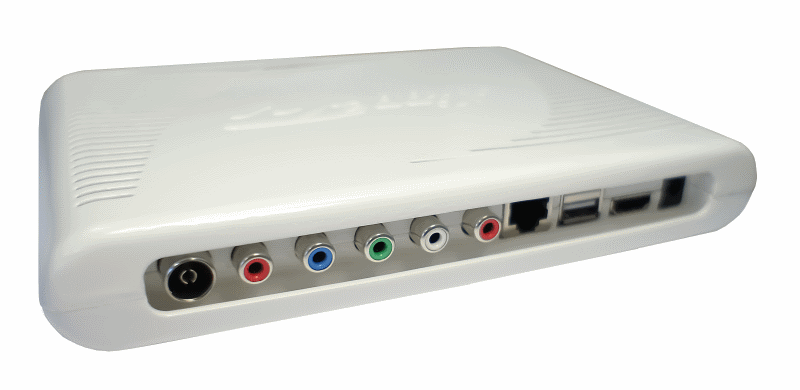 DVB-T2 HD STB for educational television channel Alippe.TV
