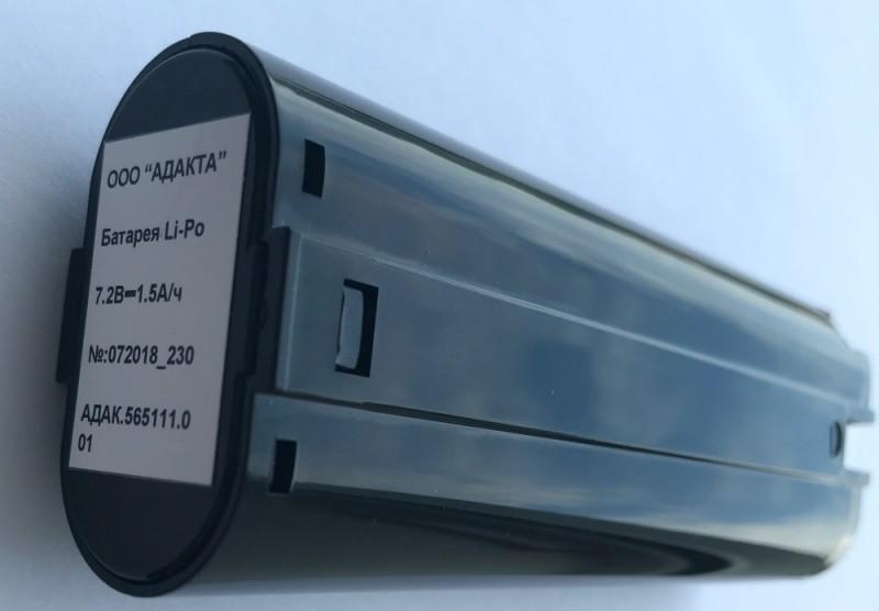 Аккумуляторная батарея пульта управления лебедкой